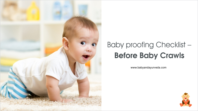 Baby Proofing Checklist – Before Baby Crawls