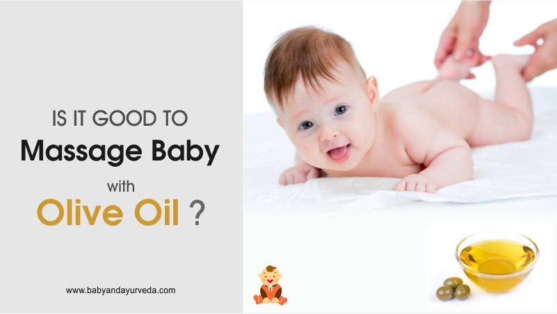 Is it good to massage baby with Olive (Figaro) Oil?
