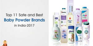 Top 11 Safe and Best Baby Powder Brands In India-2017