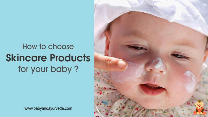 How to choose skincare products for your baby-feature image