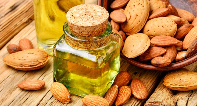Almond-Oil-is-the-best-baby-massage-oil-for-your-little