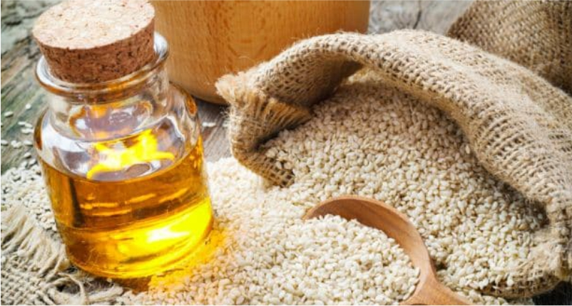 Sesame-oil-is-the-best-baby-massage-oil-for-your-little