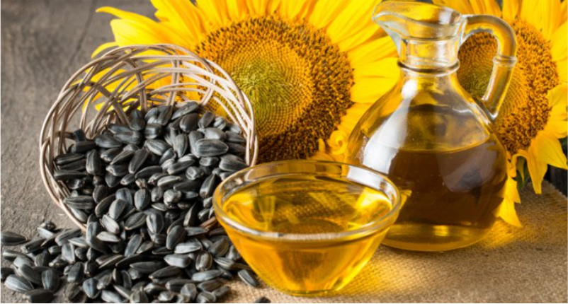Sunflower-Oil-is-the-best-baby-massage-oil-for-your-little